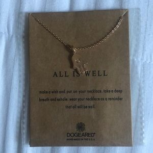 DOGEARED gold plated Necklace brand new